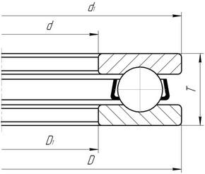 5012 - Таблица с размерами и маркировками подшипников ГОСТ/ISO