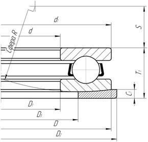 5013 - Таблица с размерами и маркировками подшипников ГОСТ/ISO